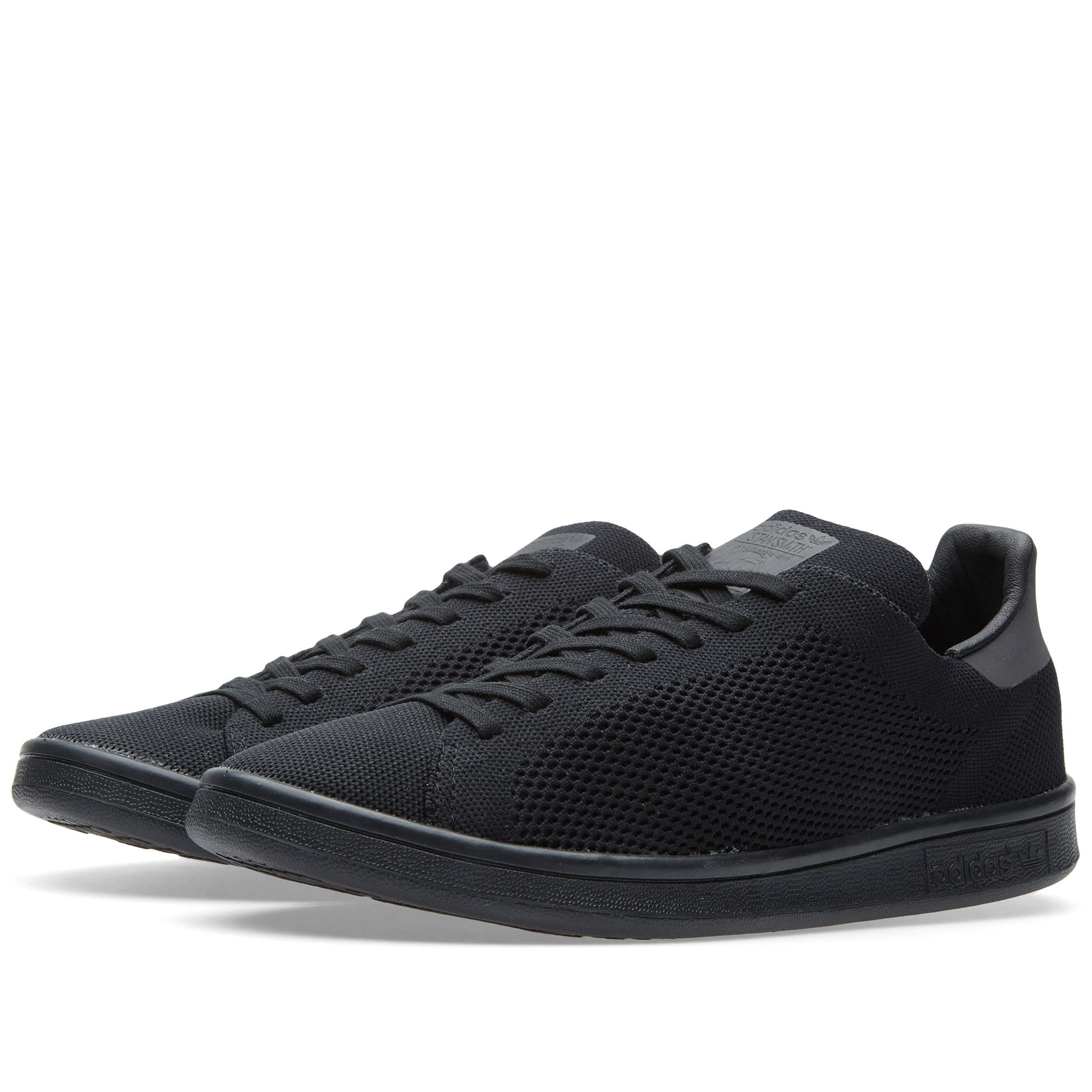 adidas stan smith primeknit core black. Black Bedroom Furniture Sets. Home Design Ideas
