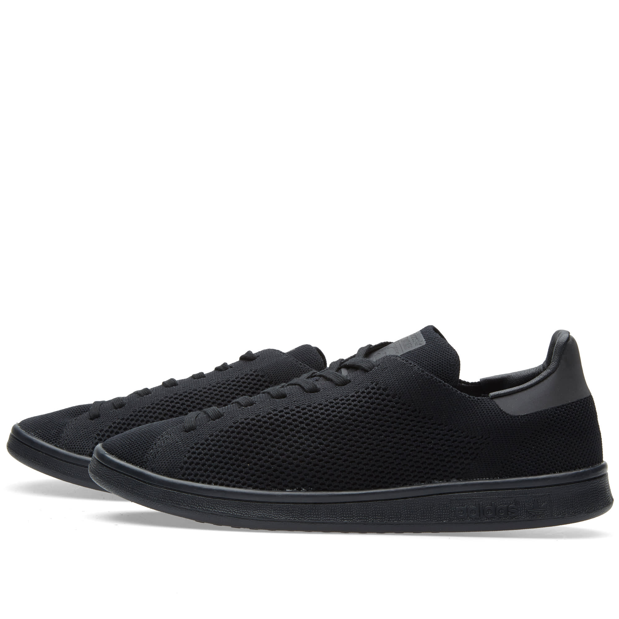 finest selection 478c7 194d3 Adidas Stan Smith Primeknit Core Black   END.