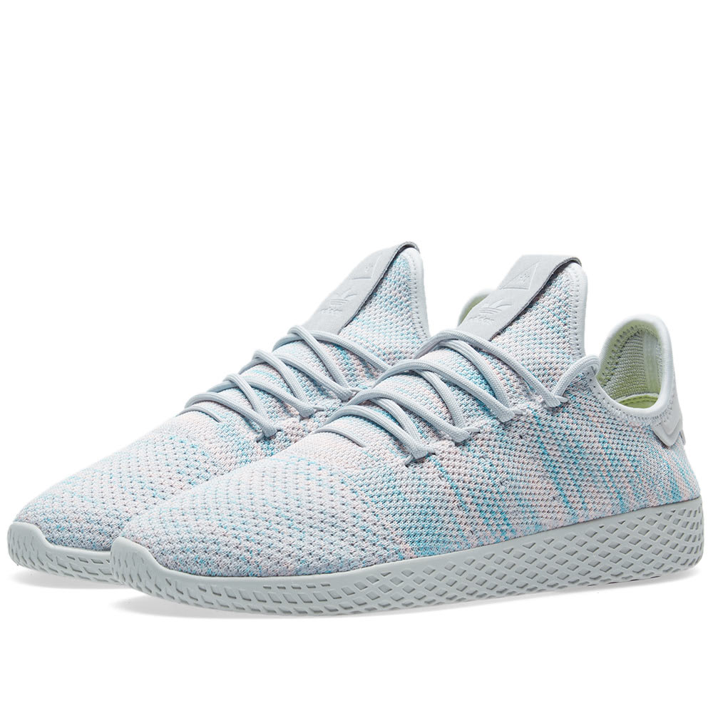 4f4beb3ea Adidas x Pharrell Williams Tennis HU Light Blue