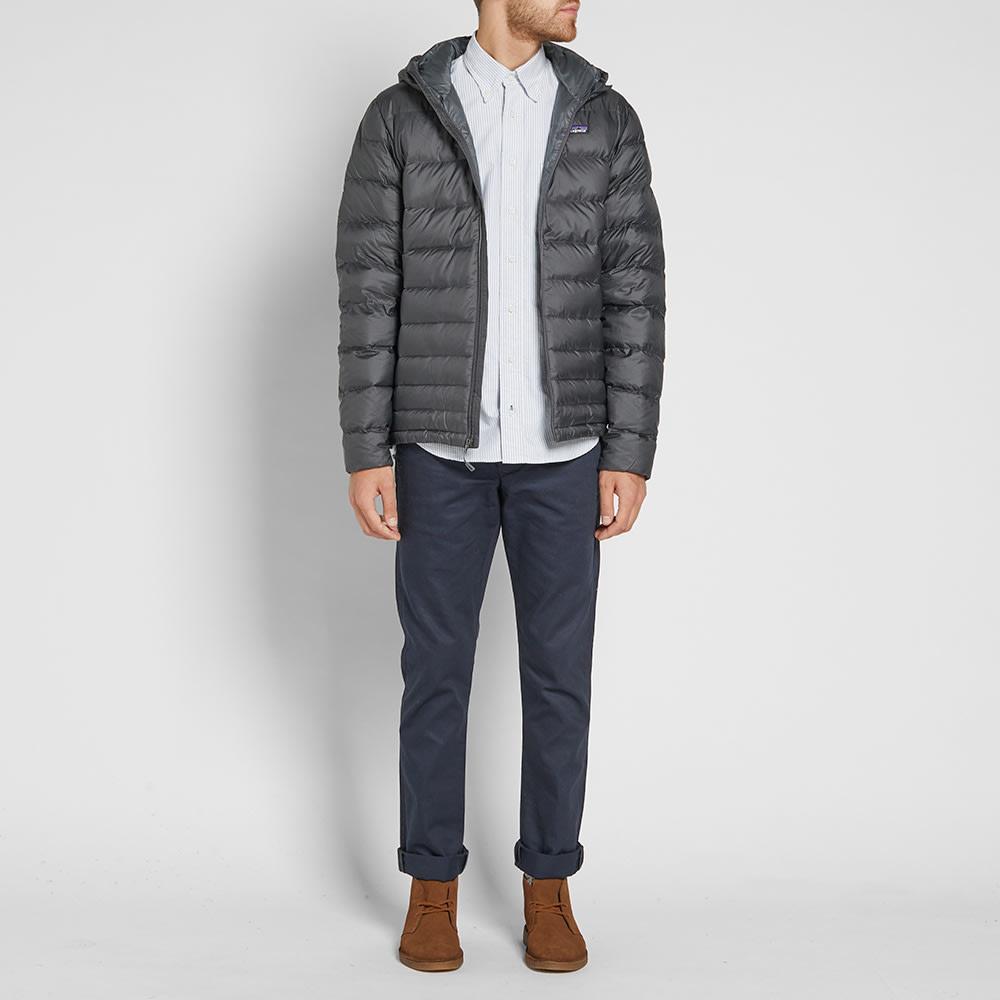 Patagonia Hi-Loft Down Sweater Hoody Forge Grey & Nouveau