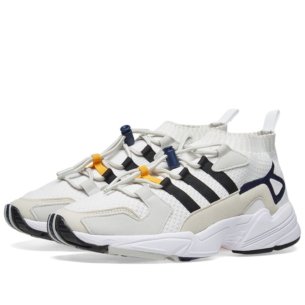 huge discount 54ac0 524a0 Adidas Consortium Workshop Falcon White, Black   Blue   END.