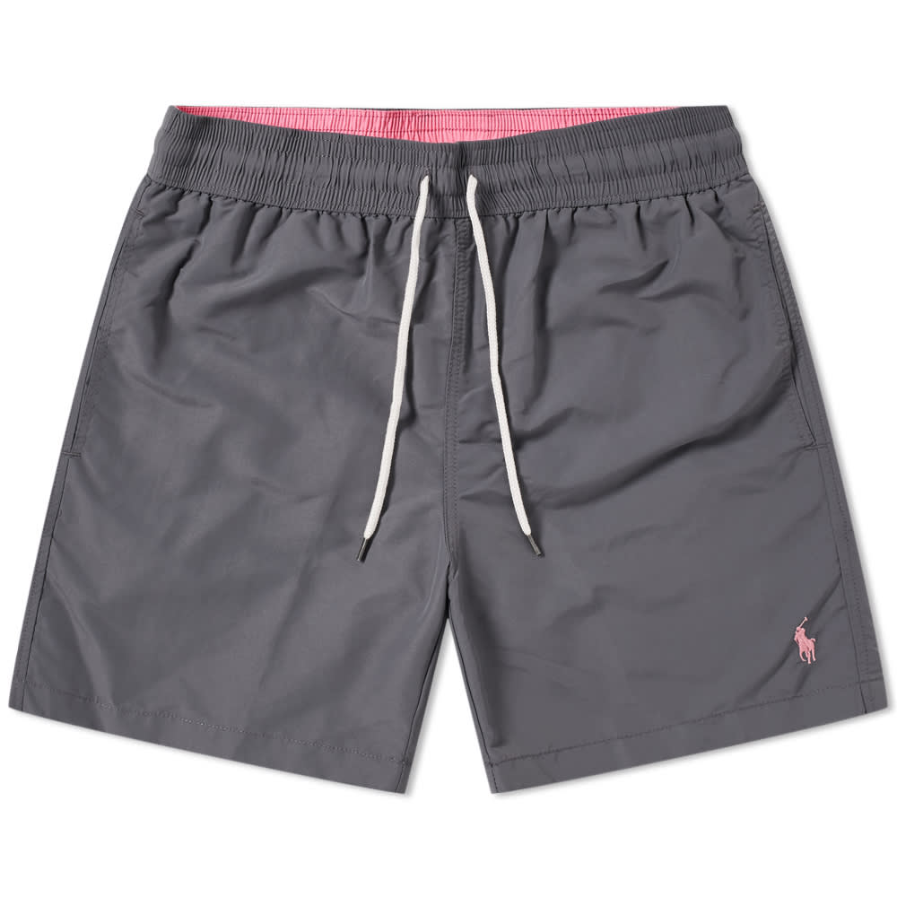 8298921d45 Polo Ralph Lauren Classic Traveller Swim Short Combat Grey | END.