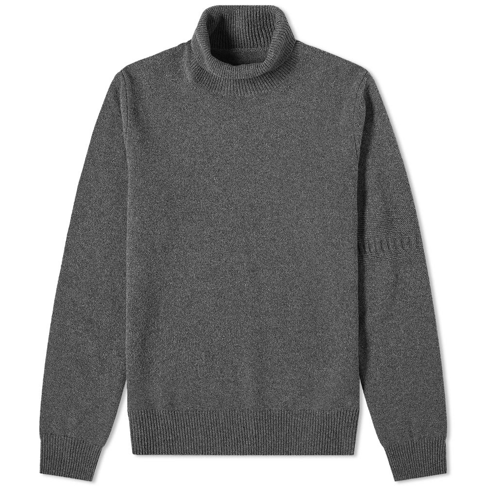 Maison Margiela 14 Sleeve Detail Roll Neck Knit HB0122-S16897-860F
