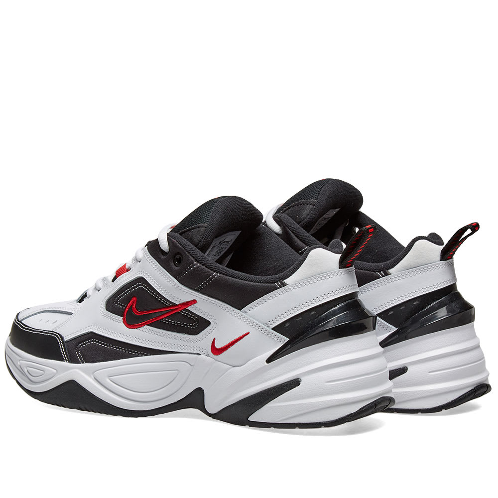 Off White x Nike M2K Tekno WhiteWheat Red Dad Shoes For Sale