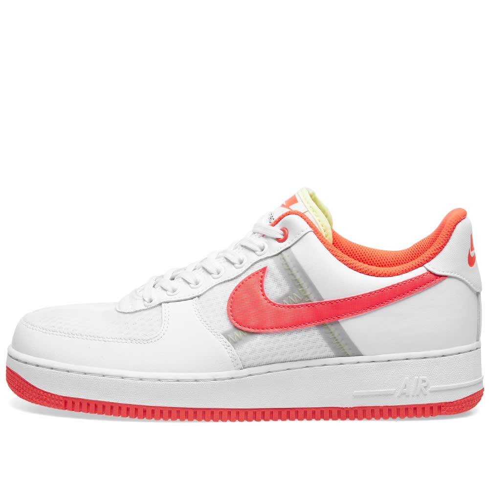Nike Sportswear FORCE 1 LV8 Sneaker low whiteblue hero