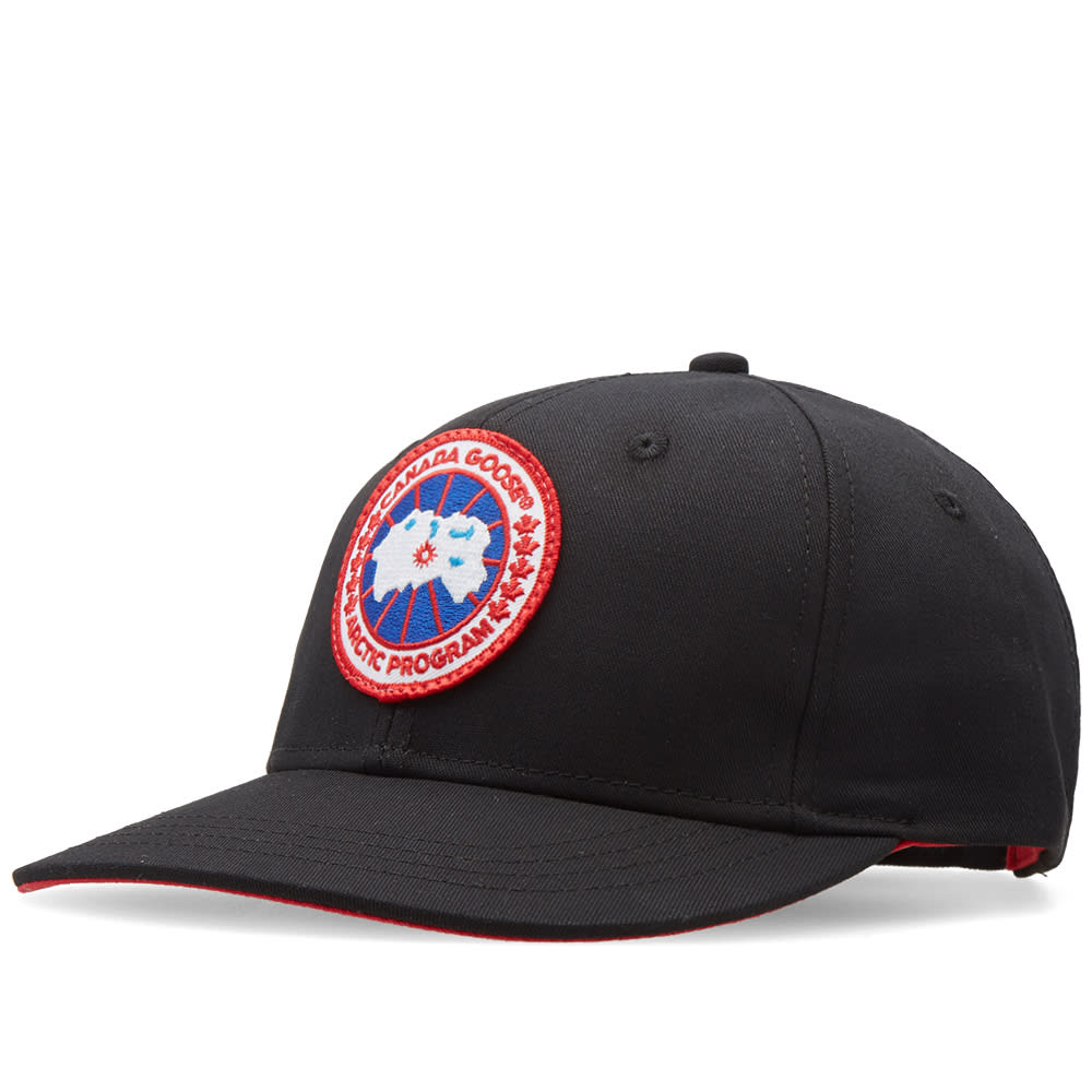 125b9995e Canada Goose Adjustable Ball Cap Black | END.
