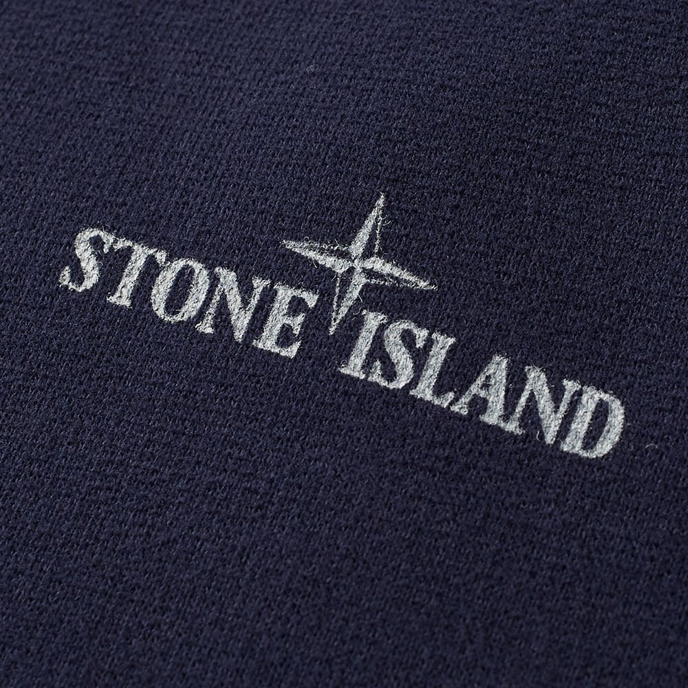 stone island logo popover hoody navy. Black Bedroom Furniture Sets. Home Design Ideas