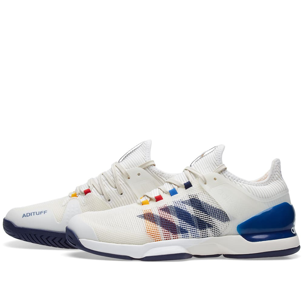 7a5ac5bb5 Adidas x Pharrell Williams US Open Adizero Ubersonic 2 Chalk White ...