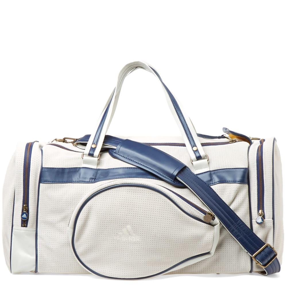 Adidas Consortium Adidas X Pharrell Williams Us Open Vintage Team Bag In  White d688af254c