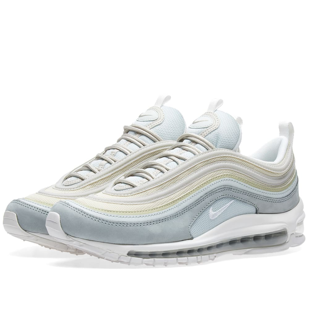68ab585b79 Nike Air Max 97 Premium Light Pumice & Summit White | END.