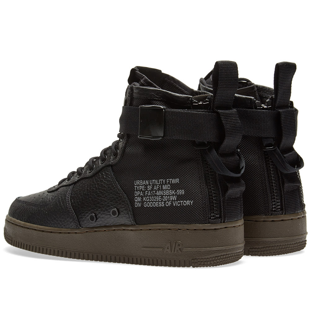 Nike SF Air Force 1 Utility Mid | Weiss | Sneaker | 917753