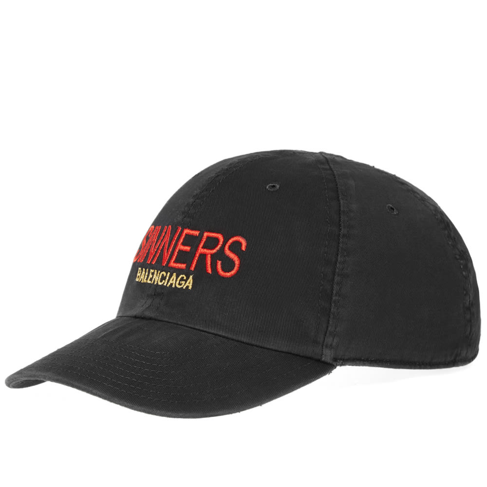 c68f9d821d1ad Balenciaga Sinners Embroidered Cap Black