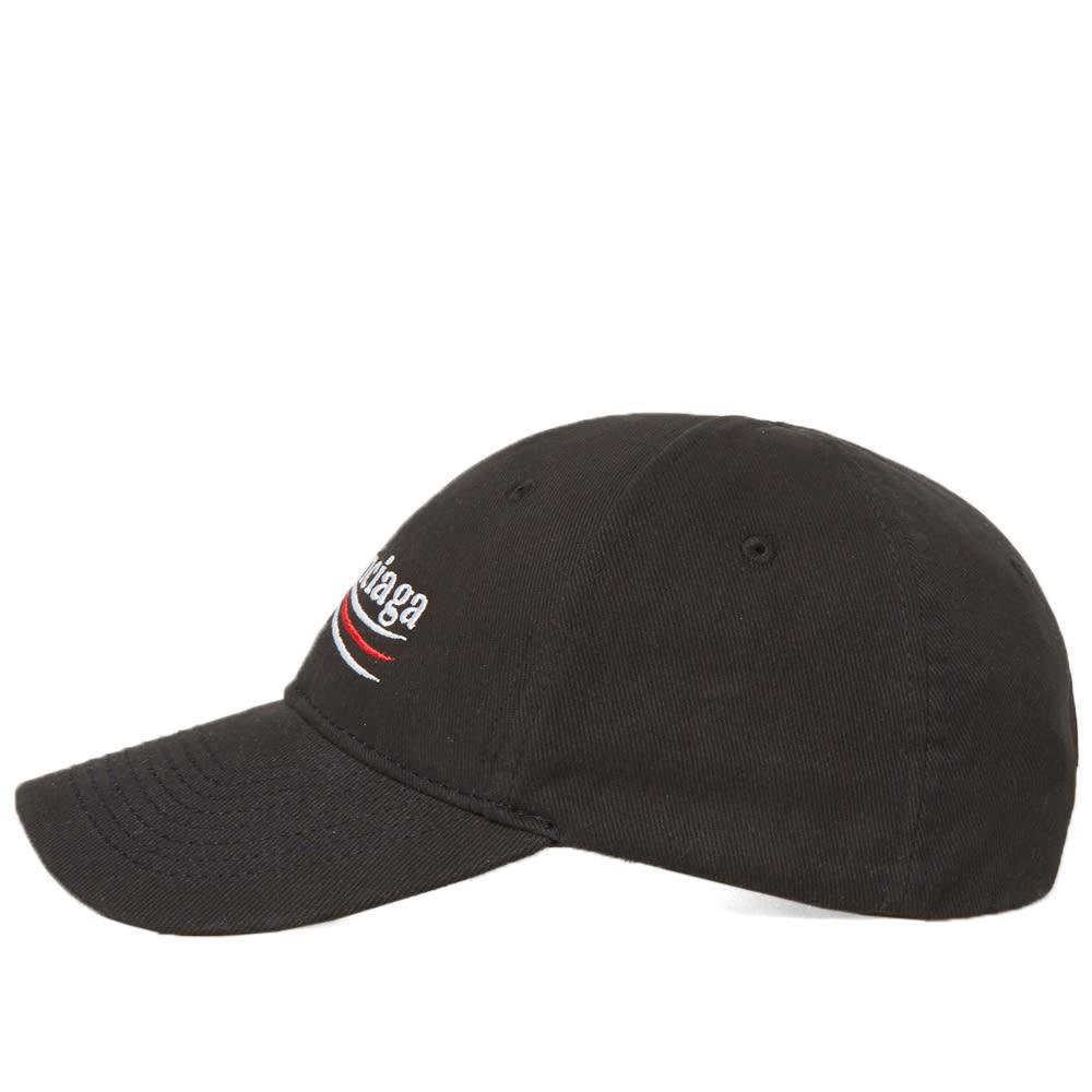 aa470911b661e Balenciaga Wave Logo Cap Black   White