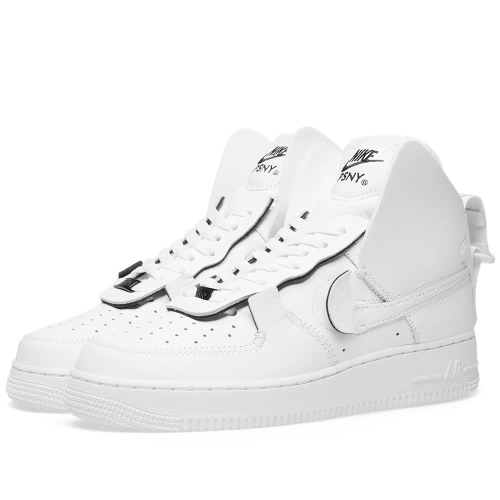 82c305631c8844 Nike Air Force 1 High PSNY White