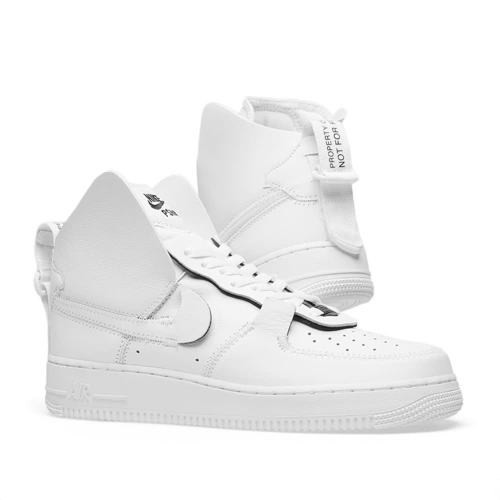Men's Nike Air Force 1 High PSNY White AO9292 101
