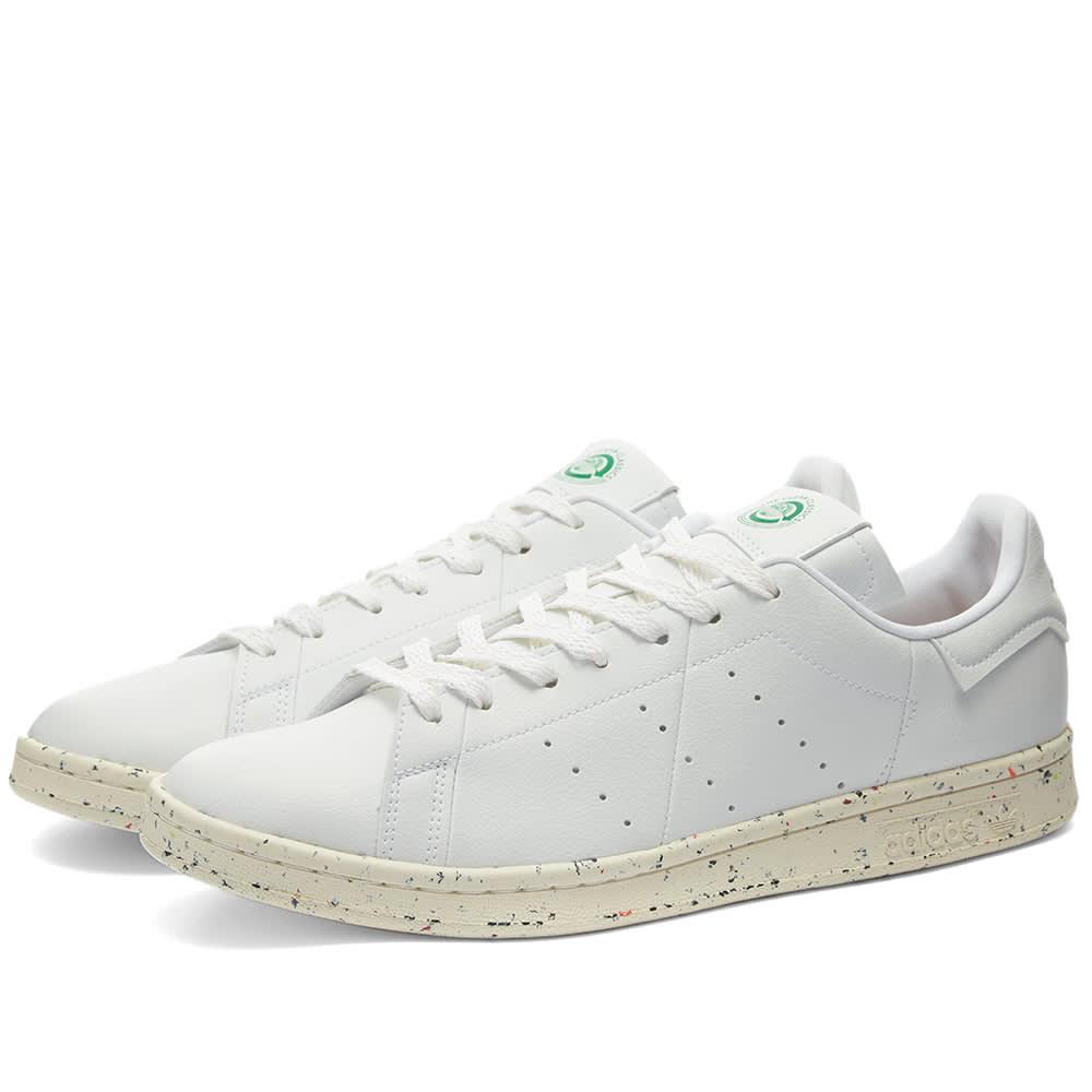 Adidas Stan Smith Vegan White, Off White & Green | END.