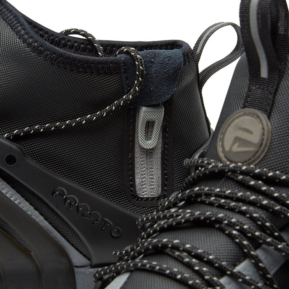 buy popular 4919d 91902 Nike W Air Presto Mid Utility Black   Reflect Silver   END.