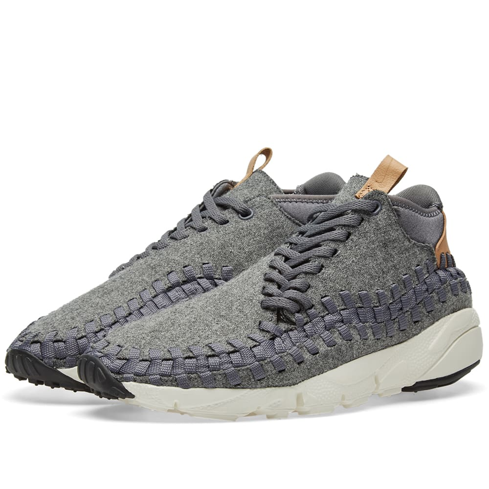 buy popular 144ba 6bc41 Nike Air Footscape Woven Chukka SE Dark Grey   Sail   END.