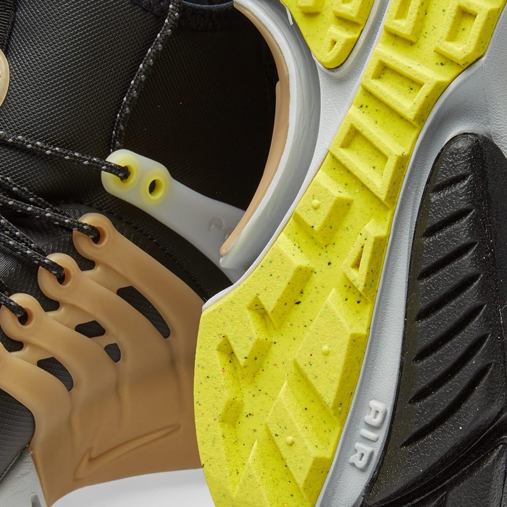 huge selection of bf03a 781b8 Nike Air Presto Mid Utility Black   Yellow Strike   END.