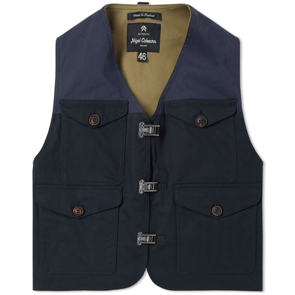 NIGEL CABOURN AUTHENTIC CAMERAMAN VEST