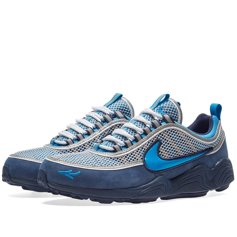 51be253b402a Nike x Stash Air Zoom Spiridon  16 Harbor Blue   Heritage Cyan