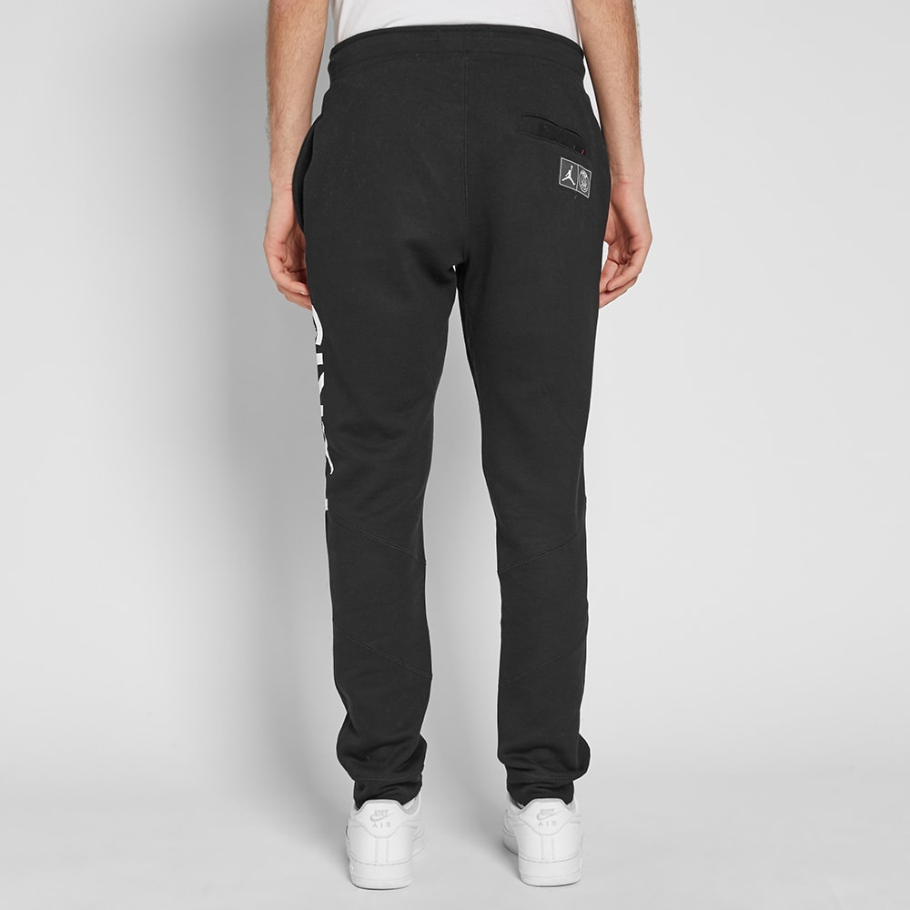 0332bf36da4057 Jordan x Paris Saint Germain Wing Pant Black   White