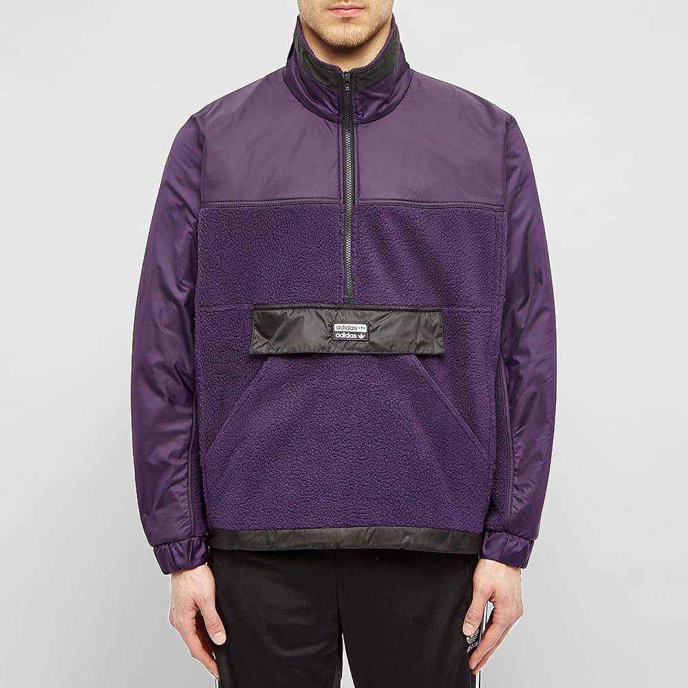 adidas fleece polar top