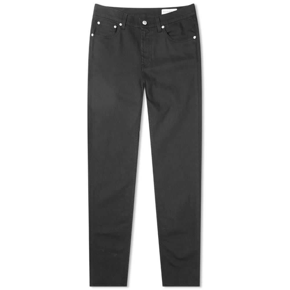 Alexander Mc Queen Chain Stitch Pocket Logo Slim Jean by Alexander Mc Queen