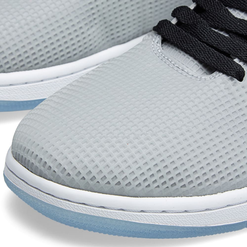 reputable site 2fa69 811fd Nike Air Jordan 4LAB1 Glow & Reflect Silver | END.