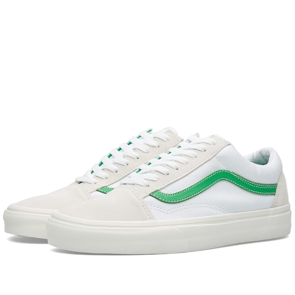 Vans Green And White