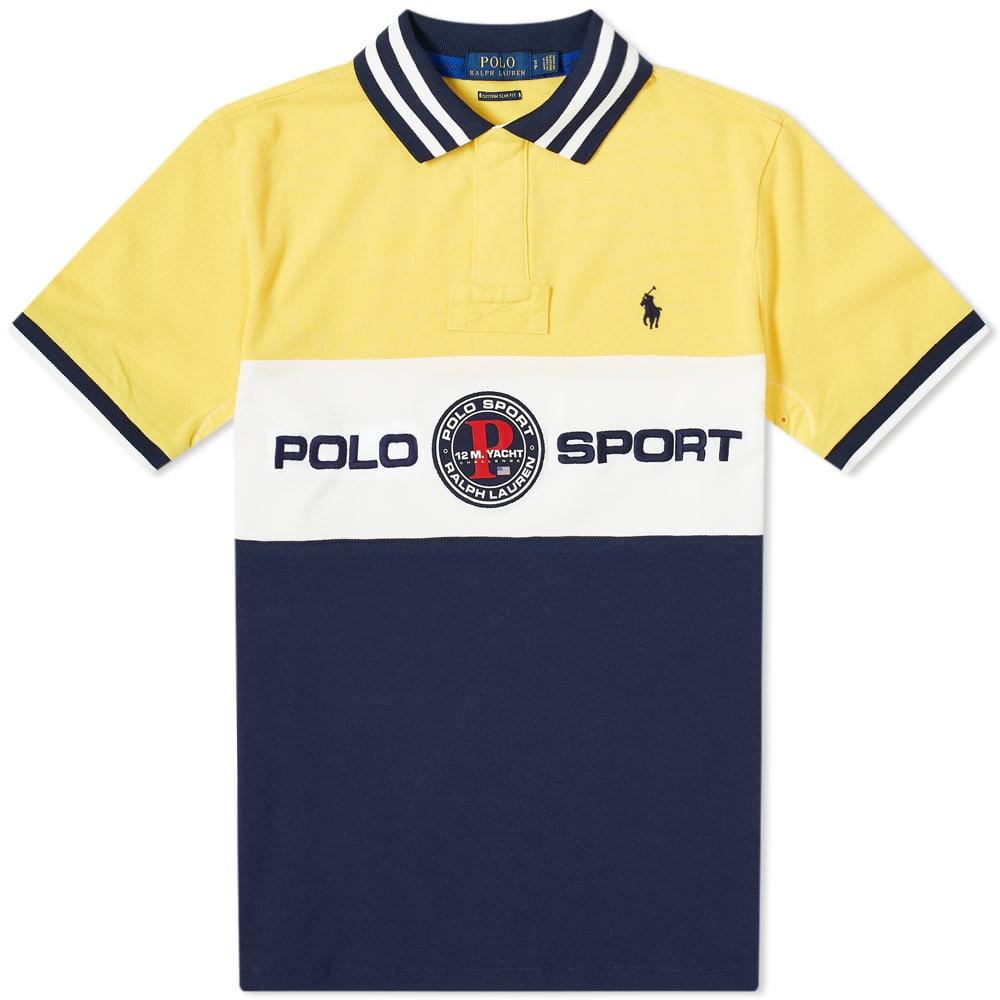 Polo Ralph Lauren Polo Sport Logo Polo Shirt