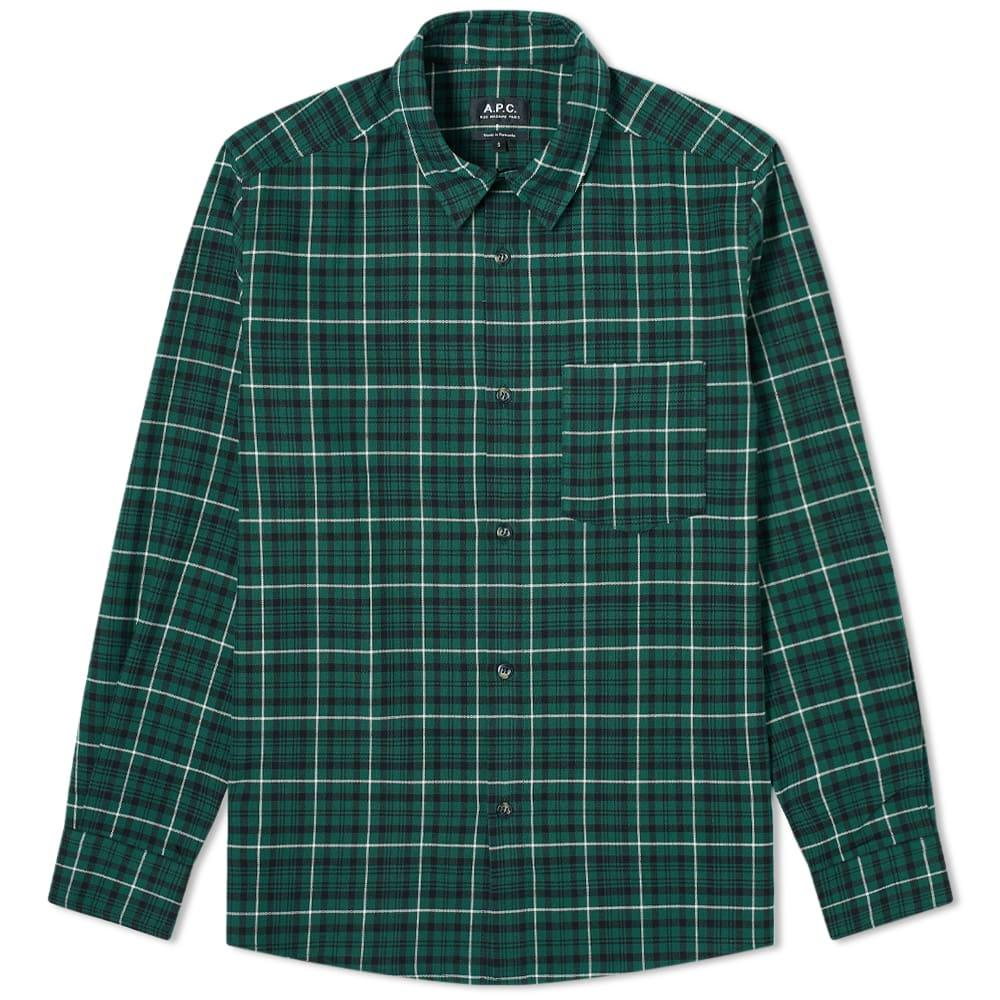 A.p.c. A.P.C. John Checked Shirt
