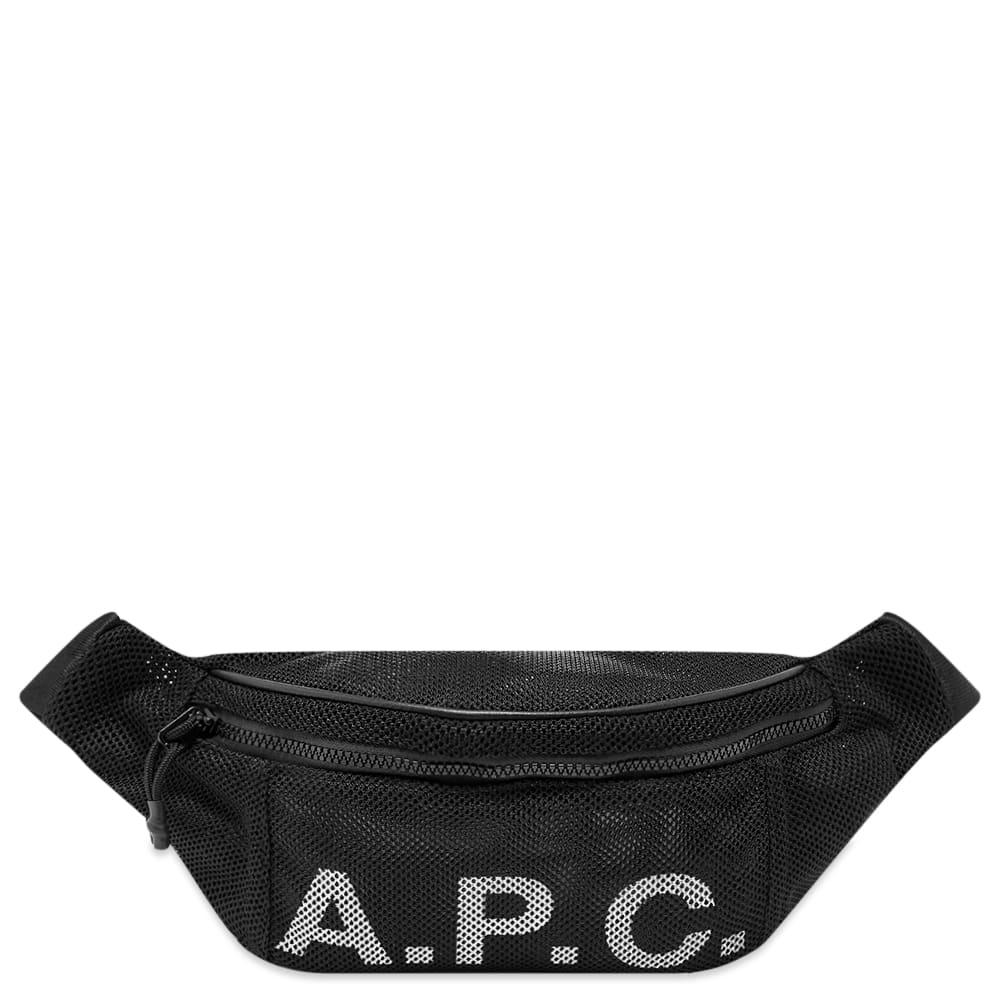 A.p.c. A.P.C. Mesh Logo Waist Bag