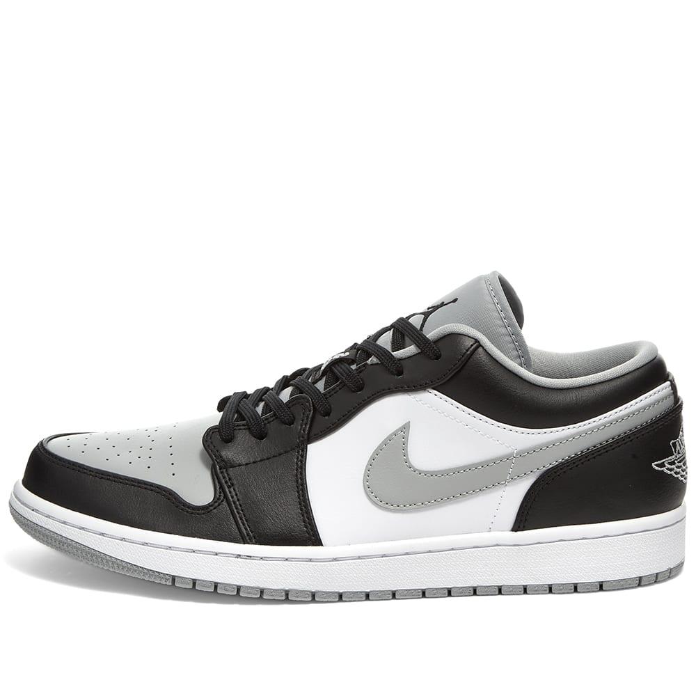 Air Jordan 1 Low Black, Smoke Grey