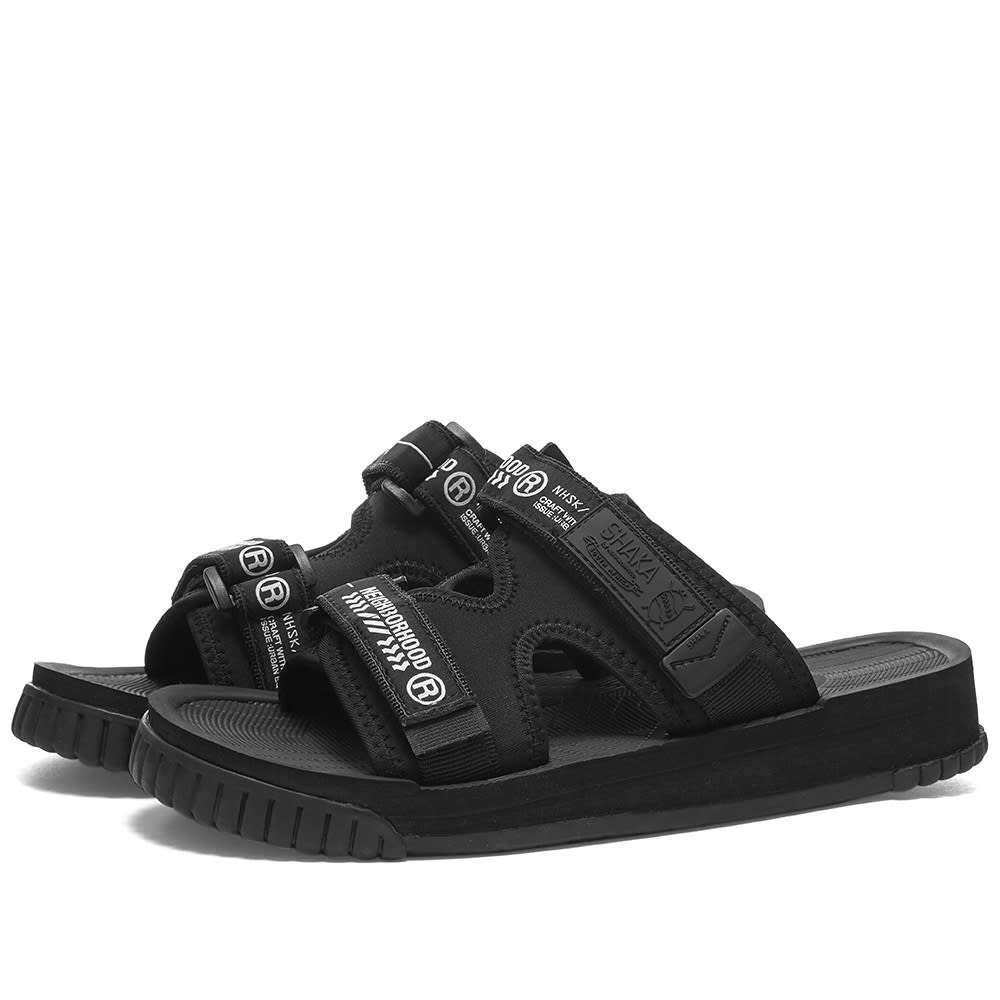 Neighborhood Chill Out Sandal Black | END.