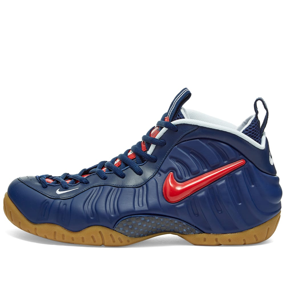 Nike Air Foamposite Pro Blue Void, Red