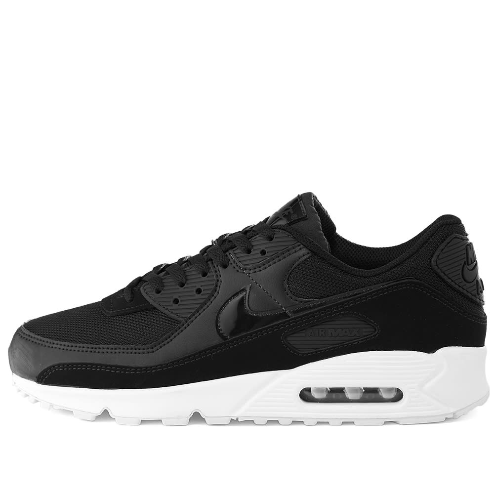 Nike Air Max 90 Patent Swoosh W Black