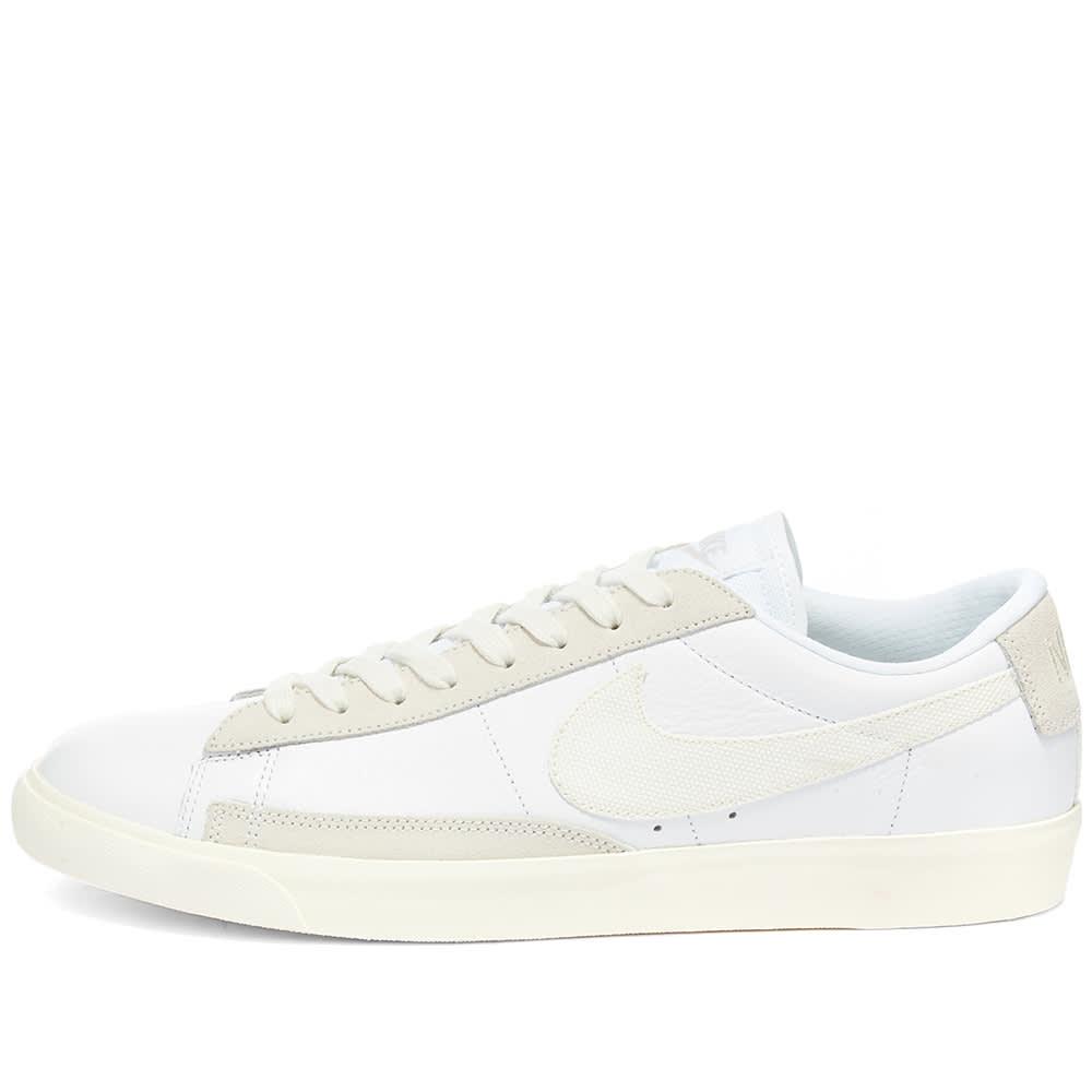 Nike Blazer Low Premium Leather White