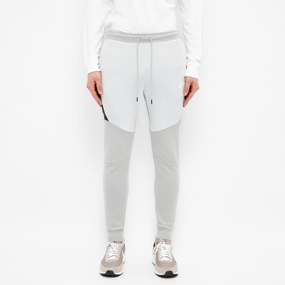 Nike Tech Fleece Jogger Smoke Grey Platinum White End