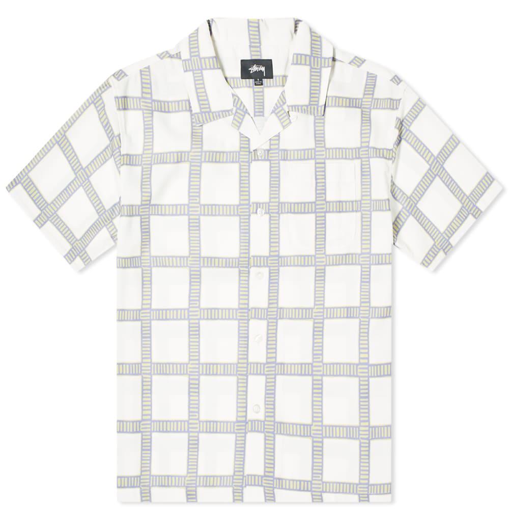 Stussy Stussy Hand Drawn Plaid Shirt
