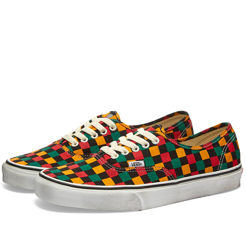 Vans Authentic Washed Checkerboard