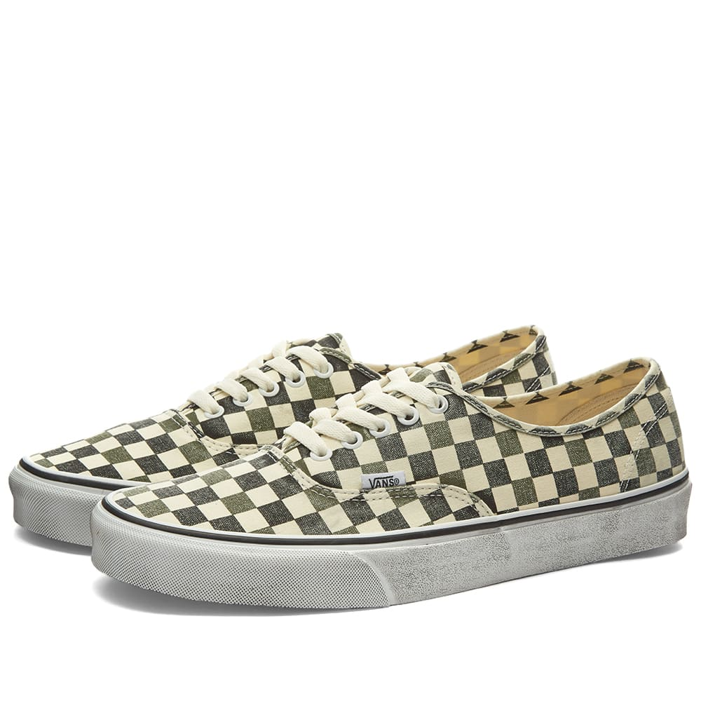 Vans Vans Authentic Washed Checkerboard