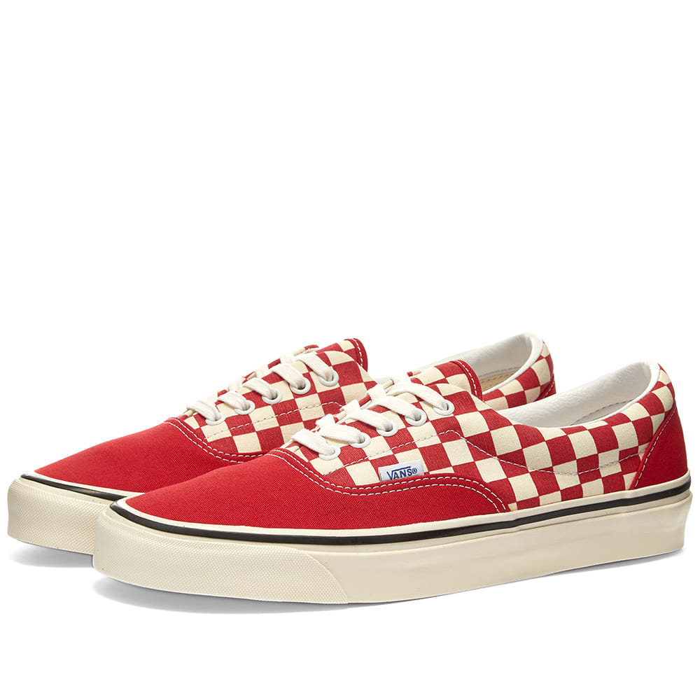 Vans Era 95 DX Red, White \u0026 Check   END.