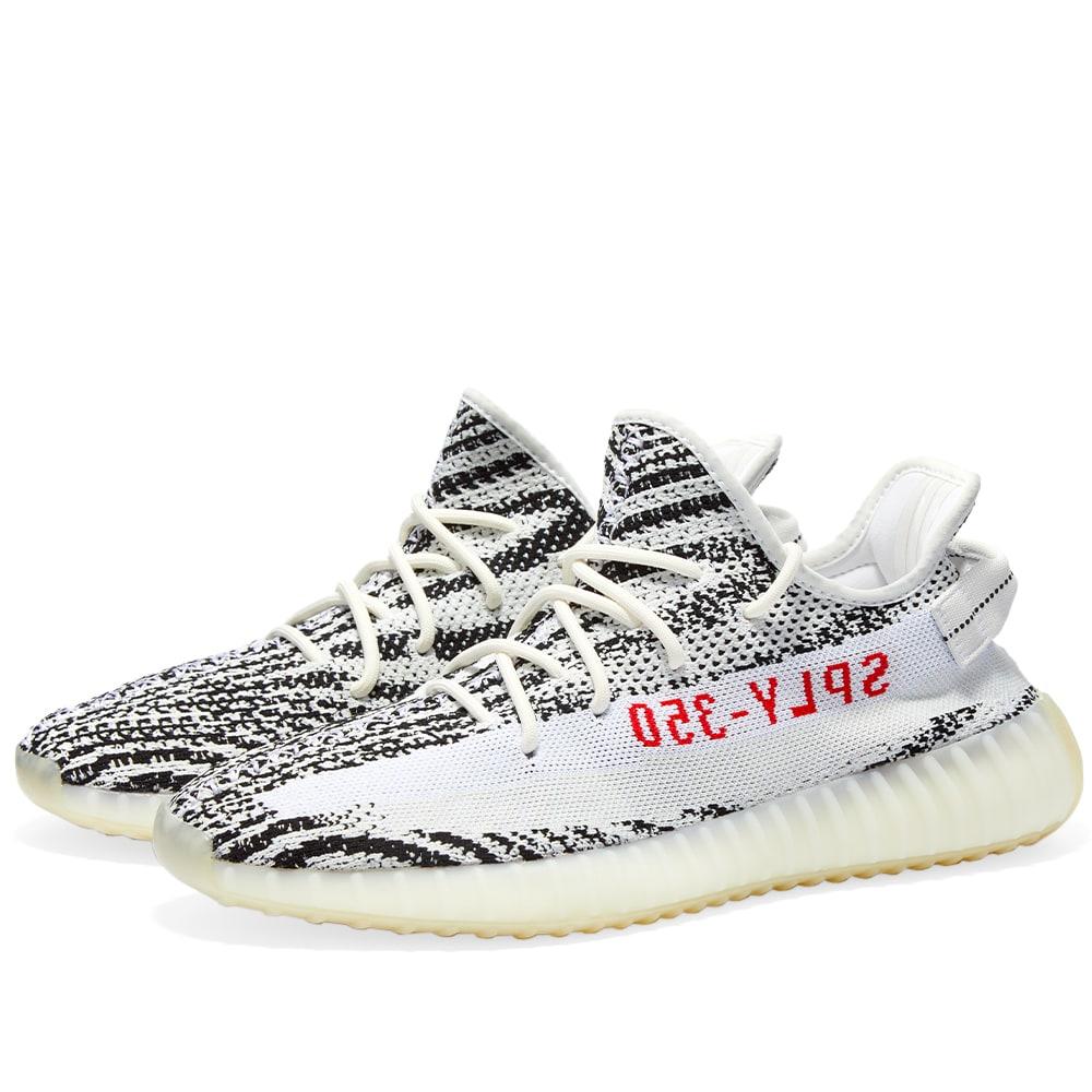 Adidas Yeezy Boost 350 V2 White, Black