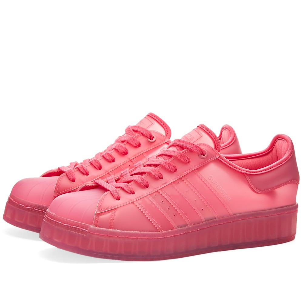 adidas bold superstar rosa