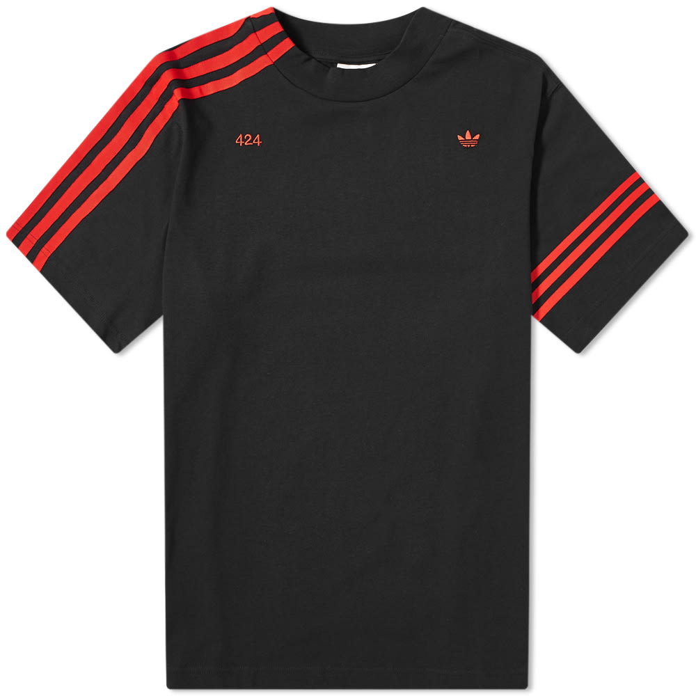 red adidas t shirt