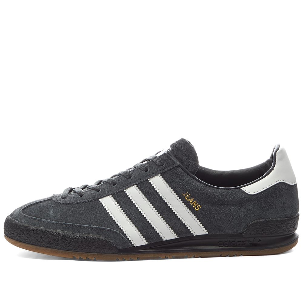 Adidas Jeans Carbon, White \u0026 Gold | END.