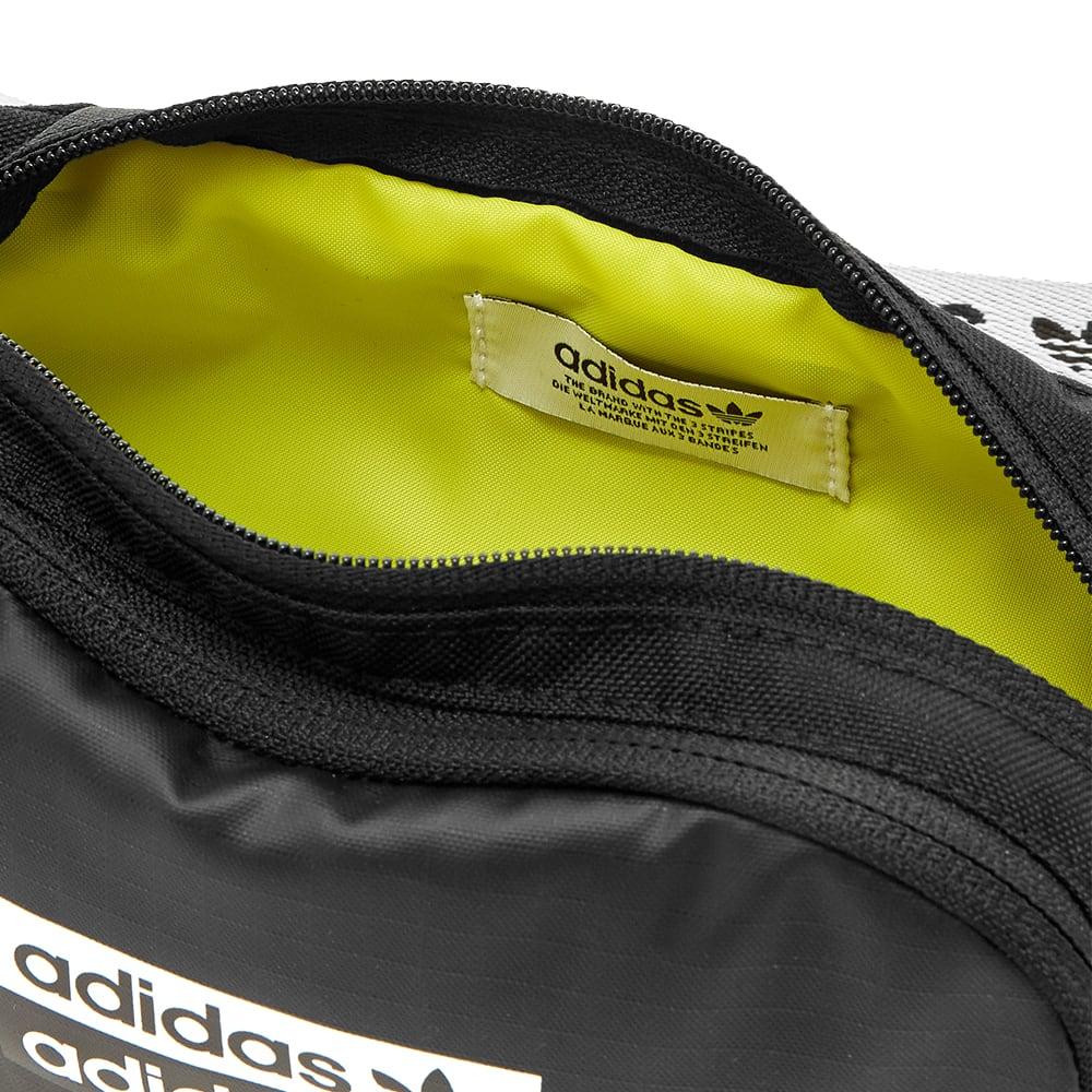 Centrar Brillante espacio  Adidas RYV Waistbag Black | END.