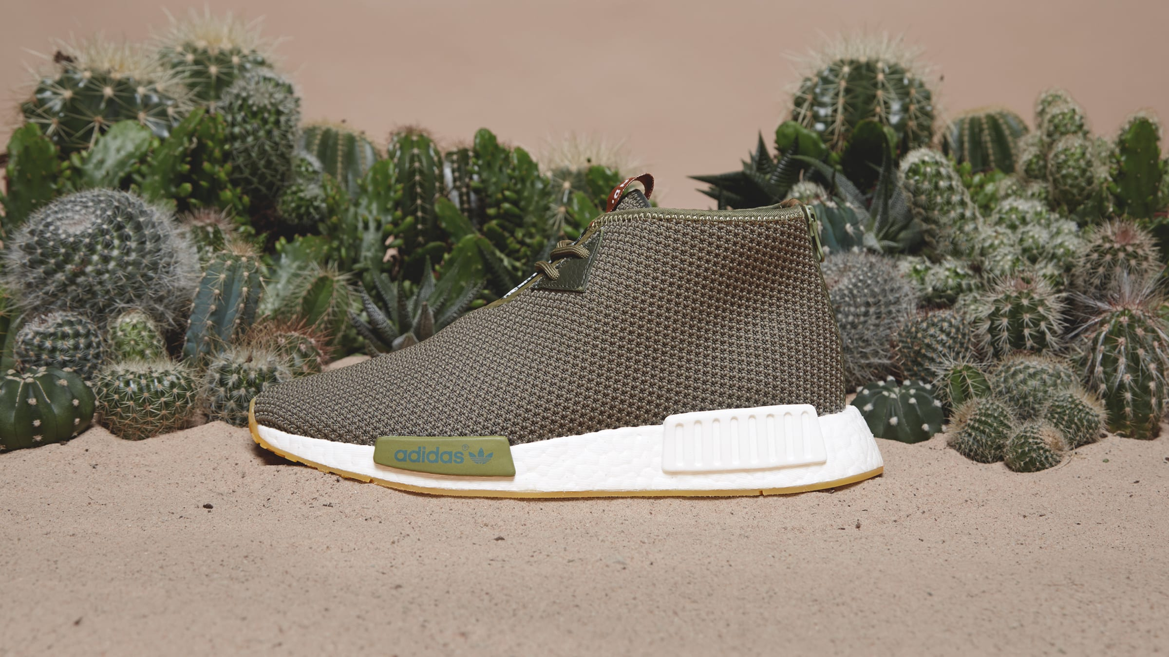 END x Adidas Consortium NMD_C1 Earth Green
