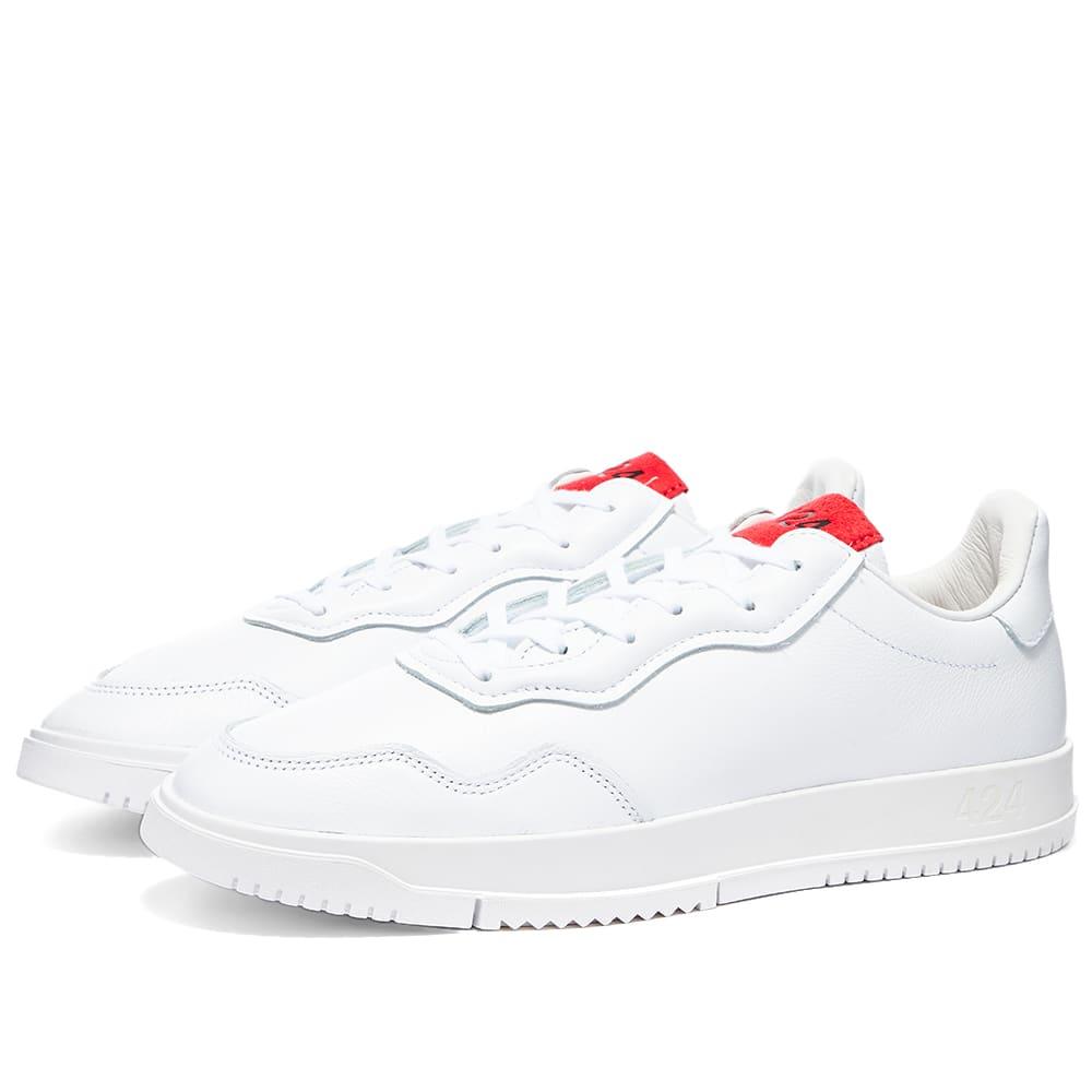 Adidas x 424 SC Premiere White \u0026 Red | END.